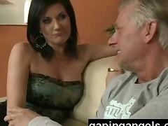 Pantyhose Teasing Babe