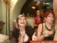 Horny Bride Gives Bj At Cfnm Party