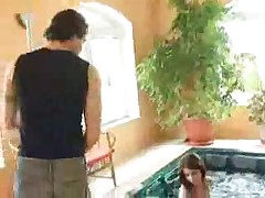 Sweet Teen Fuck In Pool