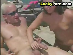 Hot Fucking By The Pool