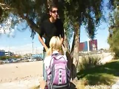 Blonde Asian Teen Cayden Moore Punished By Her Professor