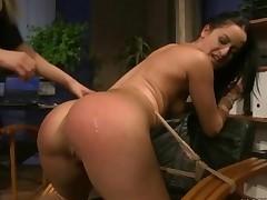 Young Mistress Punishing Slavegirl