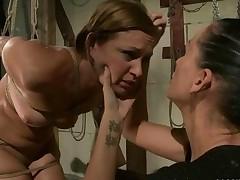 Mistress Punishing Hot Slavegirl