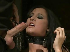 Hot Brunette Getting Punished And Fucked