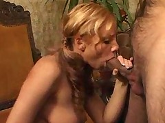 Anal on couch for redhead