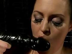 Mistress Punishing Busty Slavegirl