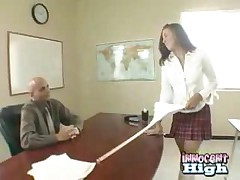 Barely Legal Teen Gets Punished After Caught Cheating On..