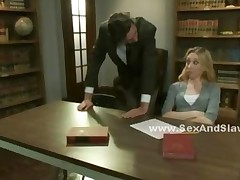 Student Punished By Teacher And Director In Threesome Bdsm..
