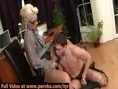 Kinky Dominatrix Secretary Sexually Punishes Boss
