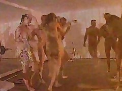 Gym Party Group Sex