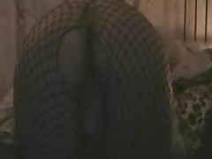 Girl Wearing Fishnets