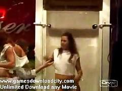 Hot Babes Strip Under Shower