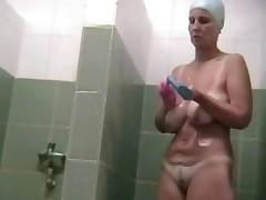 Hidden Cam Big Tits Mature In Shower