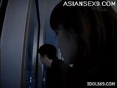 Anna Miyashita Horny Asian Doll Enjoys Masturbating In The..
