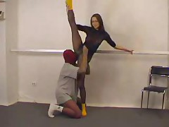 Sexy Gymnast Babe Fucking Different Types With Mask Man