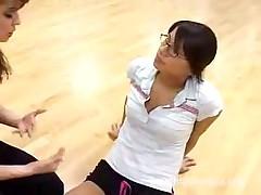 Lesbian Gym Teacher