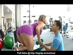 Big Tit Gym Slut Fuck