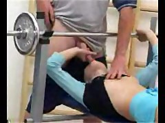 Blonde Teen Fucked At The Gym