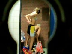 P0 Spycam Voyeur Sexy Girls Gymnastic Club