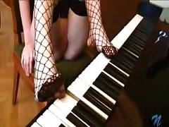 Hot Legs In Fishnet Stockings