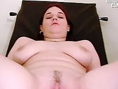 Chubby Nia gyno pussy speculum exam