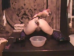Goth Slut Antonia Squirts3Of3