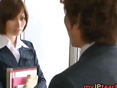 Akari Asahina Japanese Teacher Is Ready