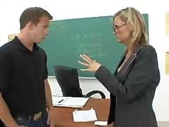 Hot Teacher Fucking A Student