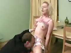 Old Teacher And Another Guy Do A Teen Cutie