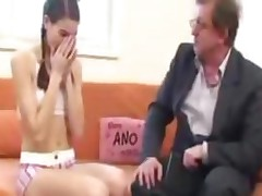 Sexy Little Skunk Gets All Dirty With Her Old Teacher