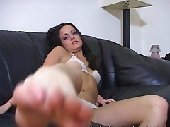 Masturbation Teacher Wants You To Lick And Suck Her Heel..
