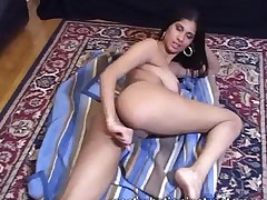 Naked Jerk Off Teacher Is On The Floor As She Demos How..