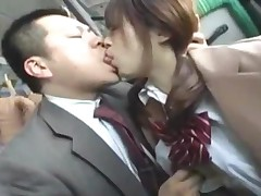 Schoolgirl Rubbing Business Man Cock With Her Ass Giving..