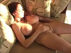 Big natural tits girl masturbating