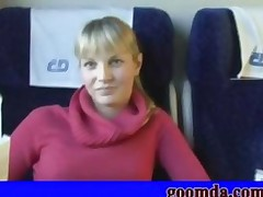 Blonde Girl Porn On The Train Sex Juliet Fucking Nicely..