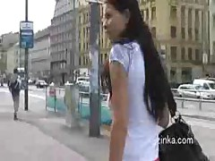 No Panty Upskirt In Taxi