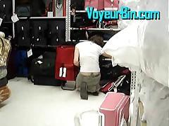 Cute Teen Upskirt At The Store
