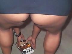 Black Girl Upskirts (No Panties)