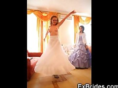 Real Exhibitionist Brides