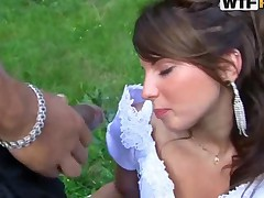 Drunk Bride Fucked By Husband And Two More Guys At The Happy..