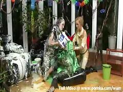 Gladiator Style Mud Wrestling!