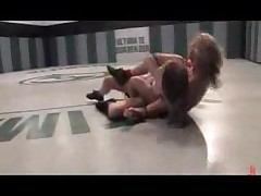 Ariel X Vs Savvanah West Female Wrestling