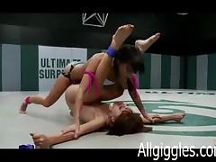 Lesbian Pro Wrestlers