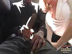 Milf Gets Banged Hard In A Car