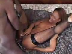 Fishnet Anal Ebony Sex