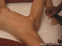 Swinger Wifes First Time With A Black Man And He Cums Inside..