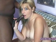 Mature Blonde Swinger Liisa Is Sucking Some Dick