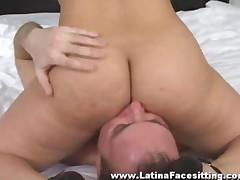 Watch Nude Latin Domina Facesitting