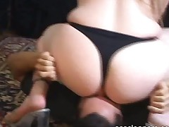 Mistress Smothers A Man By Face Sitting And Farting