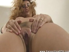 Latina Dominatrix Isis Taylor Facesitting Pov Ass Closeup